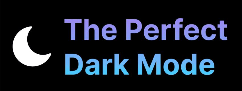 طراحی Dark Mode ( حالت تاریک ) برای وب سایت