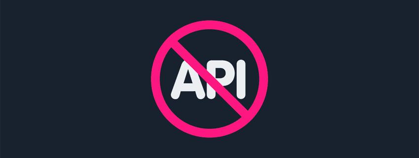 وداع با API های وب