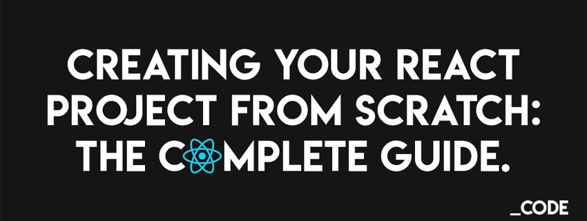 ایجاد یک پروژه React از پایه بدون استفاده از create-react-app