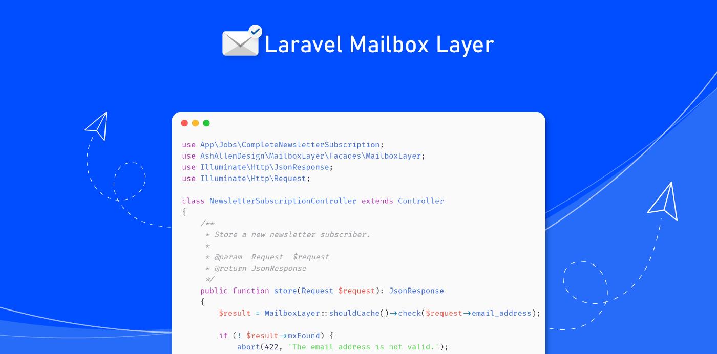 نحوه اعتبارسنجی آدرسهای ایمیل با استفاده از پکیج Laravel Mailbox Layer