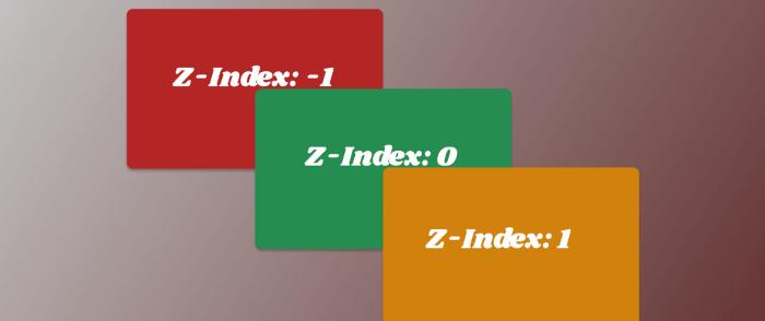 درک مفهوم Z-index در CSS