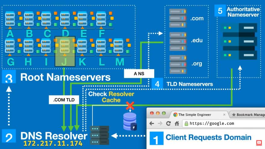 شبیه سازی فرآیند DNS