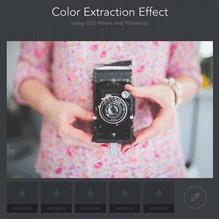 آزمایش  استخراج رنگ از عکس ها