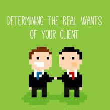 تعیین خواسته واقعی مشتری تان