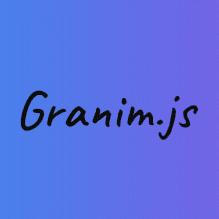 ساخت انیمیشن gradient با granim.js