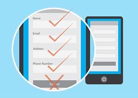 10 روش بهینه سازی فرم های وبسایت برای موبایل
