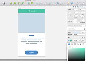 مدیریت خودکار رنگهای رابط کاربری در Sketch با استفاده از Chain