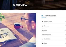 12 قالب رایگان وبلاگی بوت استرپ