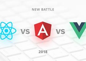 ReactJS ، Angular 5 و Vue.js علیه یکدیگر
