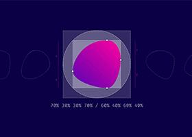 کار با ویژگی border-radius در CSS