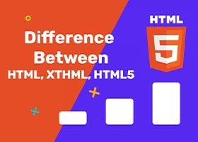 مقایسه زبان نشانهگذاری html و html5