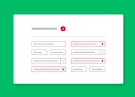 اعتبارسنجی فرمها با استفاده از HTML