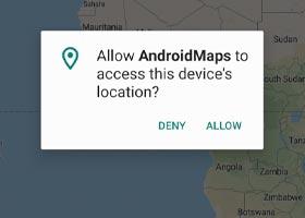 گوگل مپ برای اندروید بخش دوم: مکان کاربر