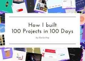 چطور من 100 پروژه در 100 روز انجام دادم