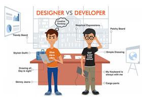 تفاوت میان طراحی وب و توسعه وب