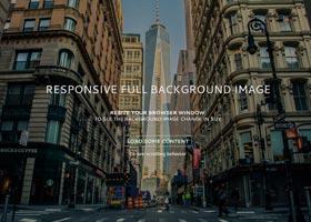 تصویر پس زمینه کامل و واکنشگرا با استفاده از CSS