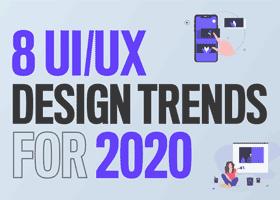 8 ترند UI براي سال 2020